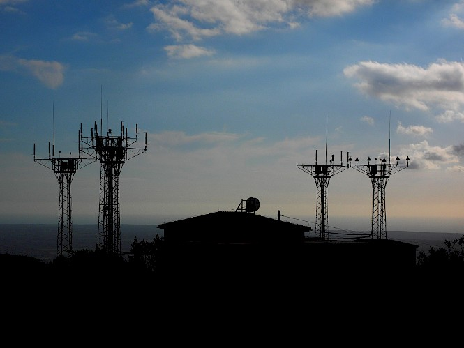Four cell towers